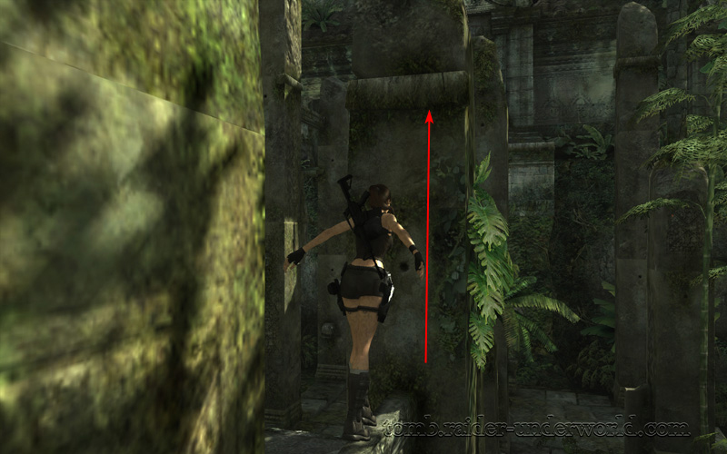 Tomb Raider Underworld walkthrough Coastal Thailand - Remnants bar balance screenshot