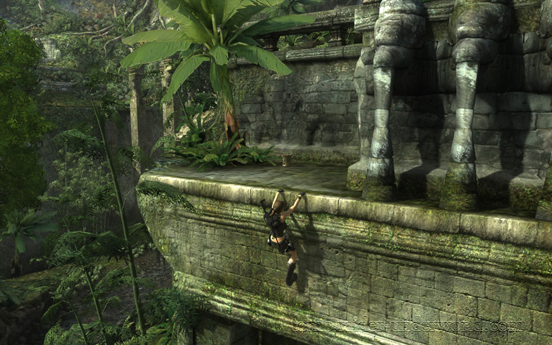 Tomb Raider Underworld walkthrough Coastal Thailand - Remnants left health pack screenshot