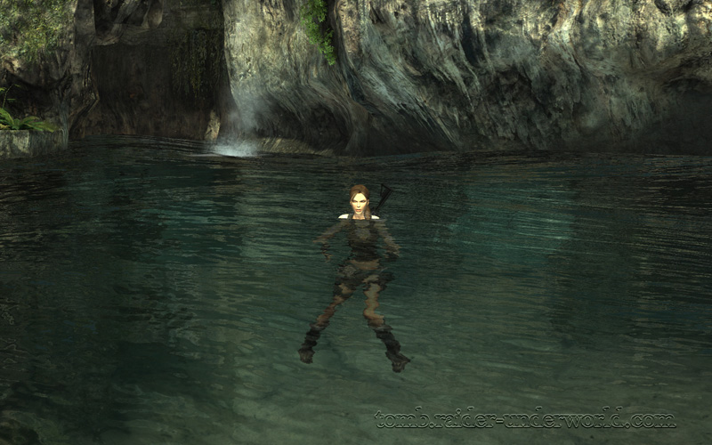 Tomb Raider Underworld walkthrough Coastal Thailand - Puppet no longer screenshot