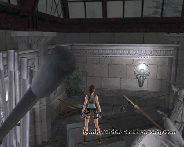 Tomb Raider Anniversary Croft Manor Visual Walkthrough screenshot Lara Croft