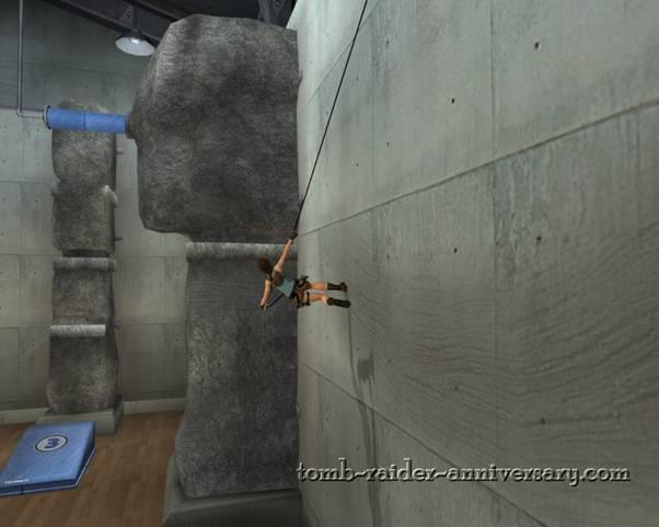 Tomb Raider Anniversary Croft Manor Visual Walkthrough screenshot Lara Croft