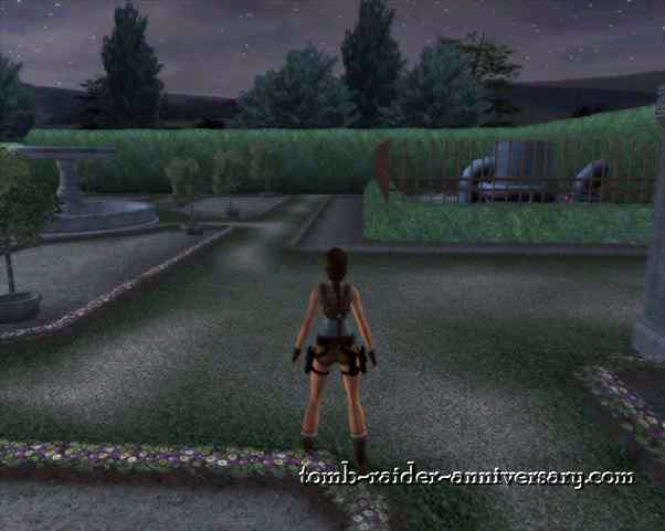 Tomb Raider Anniversary Croft Manor Visual Walkthrough Lara Mansion