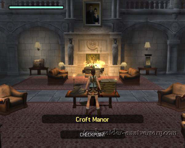 Tomb Raider Anniversary Croft Manor Visual Walkthrough