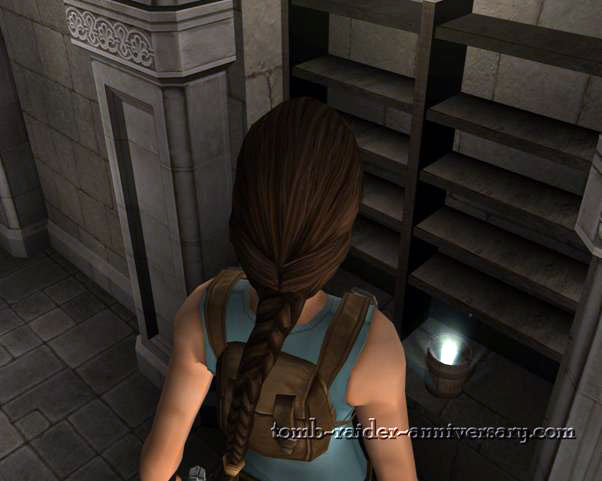 Tomb Raider Anniversary - Croft Mansion - pick up the bucket