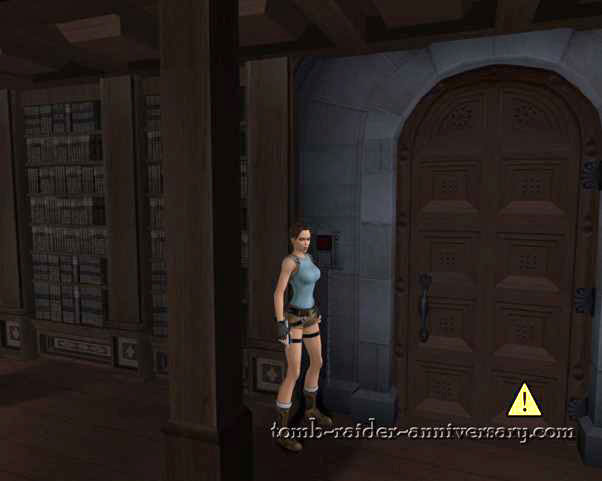 Tomb Raider Anniversary - Croft Mansion - open the locked door