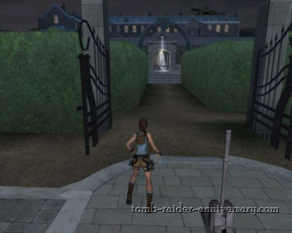 Tomb Raider Anniversary - Croft Mansion - Return to the living room